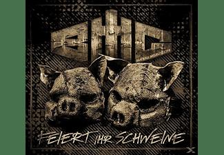 Bmg Aka Brachiale Musikgestalter - FEIERT IHR SCHWEINE!  - (CD)
