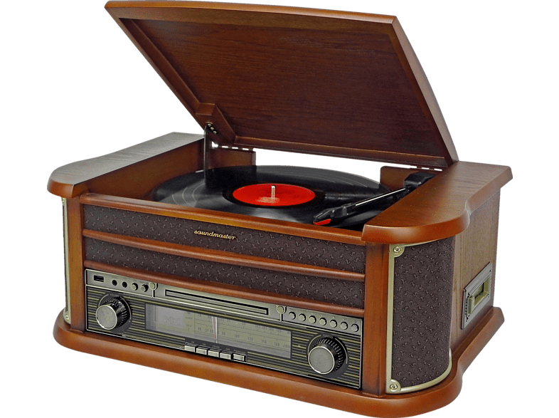 SOUNDMASTER Nostalgie Musikcenter NR540 Holzfurnier
