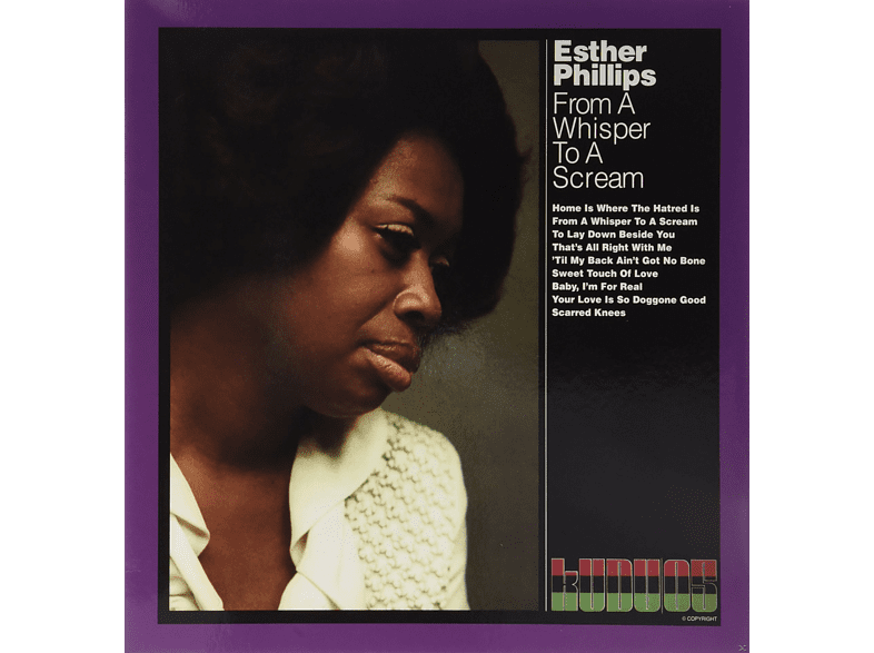 Esther Phillips - FROM A WHISPER TO A SCREAM [Vinyl]