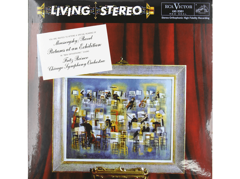 Chicago Symphony Orchestra - PICTURES AT AN EXHIBITION - 200G [Vinyl]