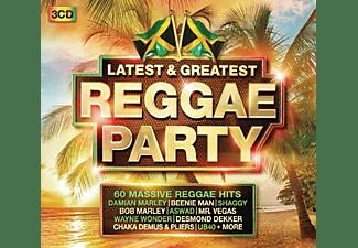 VARIOUS - Reggae Party-Latest & Greatest  - (CD)