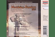 Daus - Matthäus-Passion (1785) [CD]