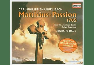Daus - Matthäus-Passion (1785)  - (CD)