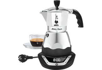 BIALETTI 2603C Easy Timer 6 - Cafetières italiennes (Argent)