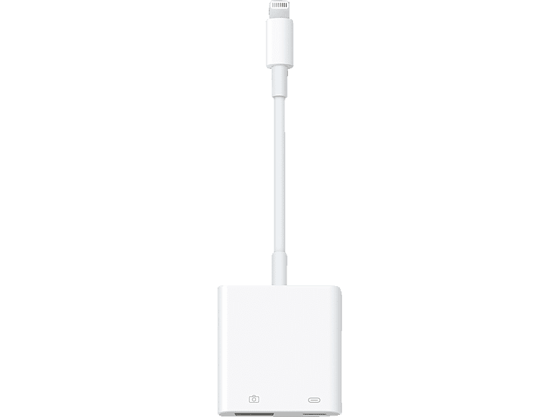 APPLE Lightning auf USB 3, Kamera-Adapter, 155 mm, Weiß