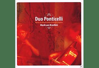 Duo Ponticelli - Musik aus Brasilien f.2 Celli  - (CD)