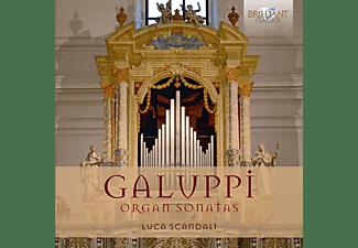 Luca Scandali - Organ Sonatas  - (CD)