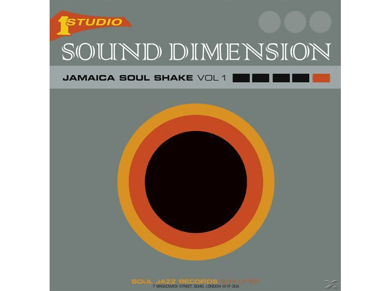 Sound Dimension - JAMAICA SOUL SHAKE 1 [Vinyl]