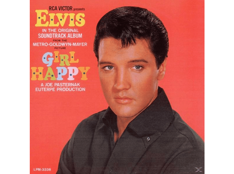 Elvis Presley - GIRL HAPPY (REMASTERED) [Vinyl]