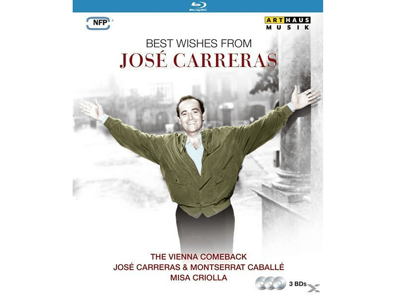 José Carreras - Best Wishes From Jose Carreras [Blu-ray]
