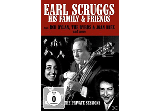 Earl Scruggs & His Family & Friends - The Private Sessions  - (DVD)