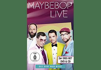 Maybebop - Das Darf Man Nicht-Live  - (DVD + CD)