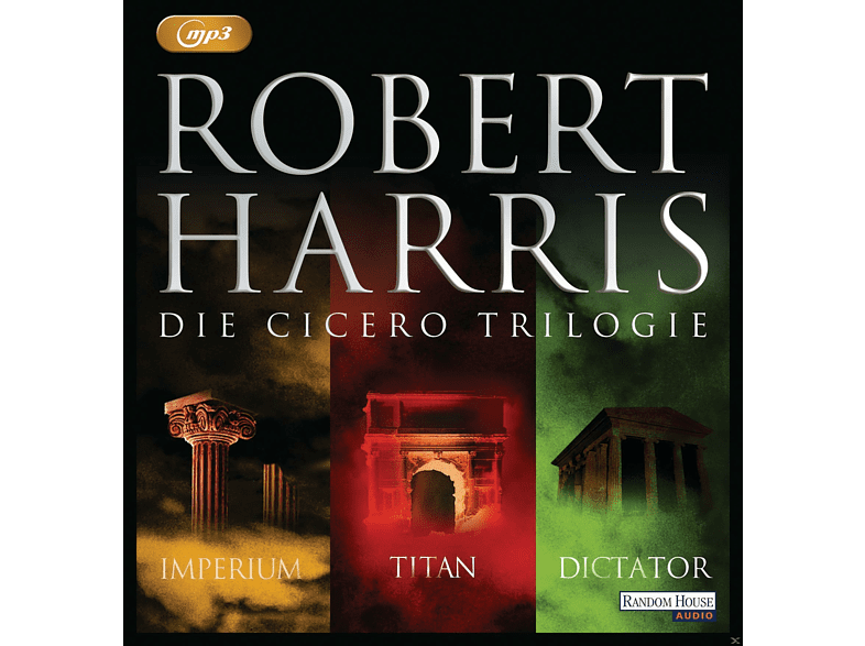 Christian Berkel, Hannes Jaenicke, Frank Arnold,  - Die Cicero Trilogie - (MP3-CD)