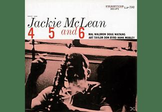 Jackie Mclean - 4,5,AND 6  - (Vinyl)