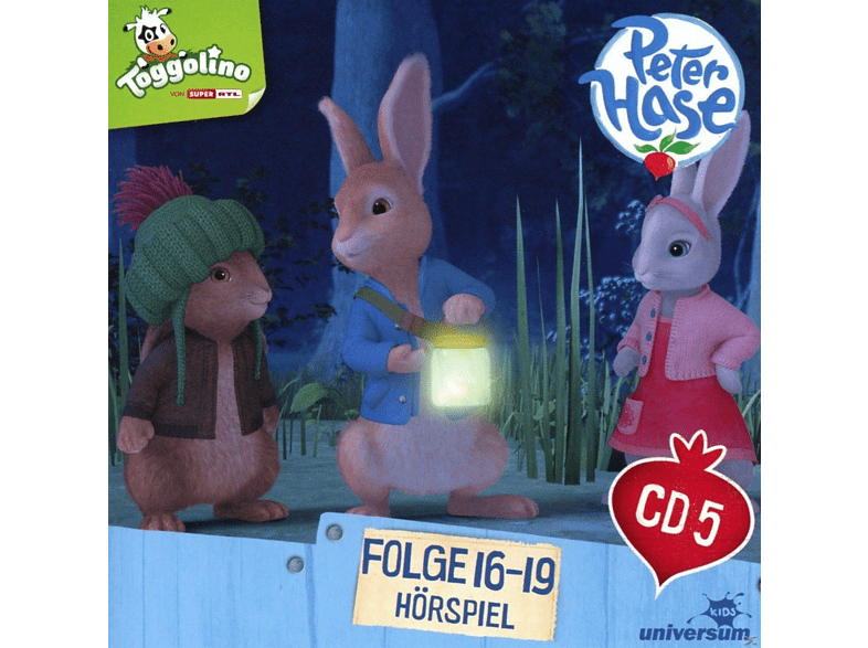 Peter Hase - Peter Hase 05 - Folge 16-19 - (CD)