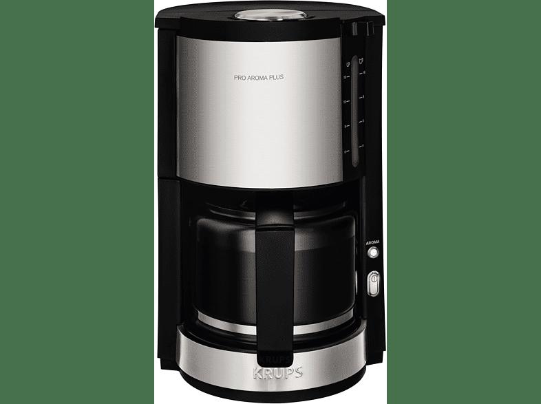 KRUPS KM321 ProAroma Plus Kaffeemaschine Schwarz/Edelstahl