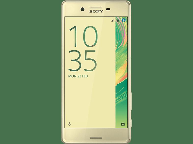 SONY Xperia X 32 GB Grün/Gold