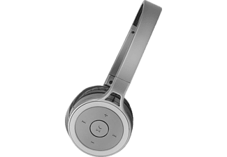 Auriculares inalámbricos - Isy IBH-2100-TI, Bluetooth, Diadema, Titanio