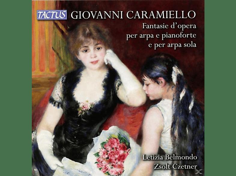 Belmondo,Letizia/Czetner,Zsolt - Fantasie d'opera [CD]