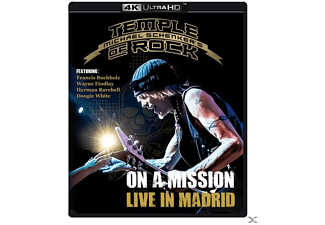 Michael Temple Of Rock Schenker's - On A Mission-Live In Madrid  - (4K Ultra HD Blu-ray)
