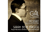 Sara Beth Briggs, Royal Northern Sinfonia Orchester - Klavierkonzerte [CD]