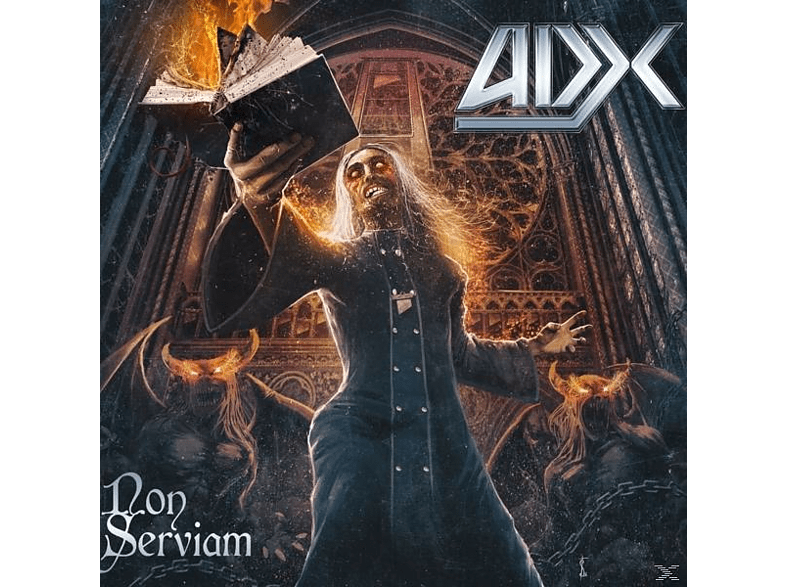 Adx - Non Serviam (Gatefold,Black) [Vinyl]