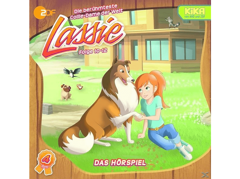 Lassie - Lassie 4: Folge 10-12 - (CD)