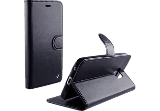 VOLTE-TEL Θήκη Samsung Galaxy J1 2016 J120 Leather-TPU Book Stand Black  (5205308162114)