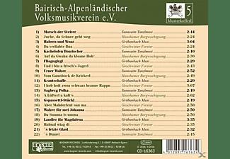 Bairisch-Alpenländ.Volksmusikverein e.V - Musterkofferl 5-Und i bin a frisch`s J  - (CD)
