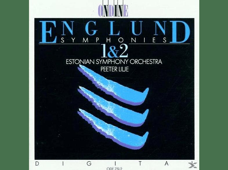 Peeter Lilje, Estonian So - ENGLUND: Sinfonien 1+2 [CD]