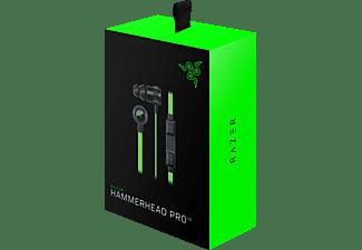 RAZER Hammerhead Pro V2, In-ear In-Ear Gaming-Headset Schwarz/Grün