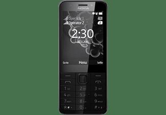 NOKIA 230 Dual-SIM, schwarz/silber (A00026986)