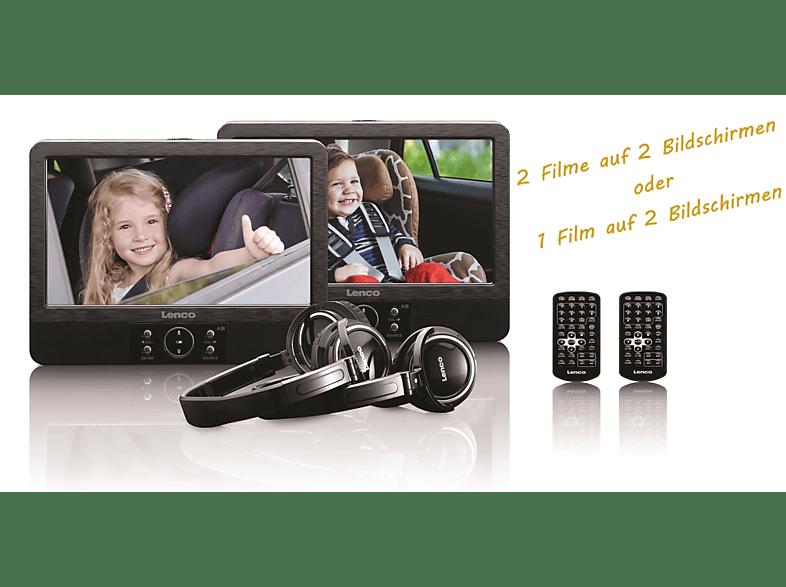 LENCO DVP938 DVD Player, Schwarz