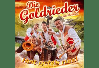 Die Goldrieder - Heit gehts rund  - (CD)