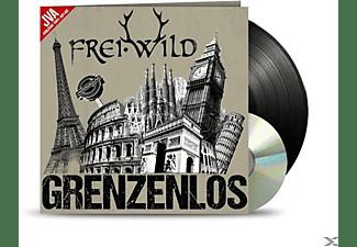 Frei.Wild - Grenzenlos (Jva-Jubiläums Vinyl Auflage)  - (LP + Bonus-CD)