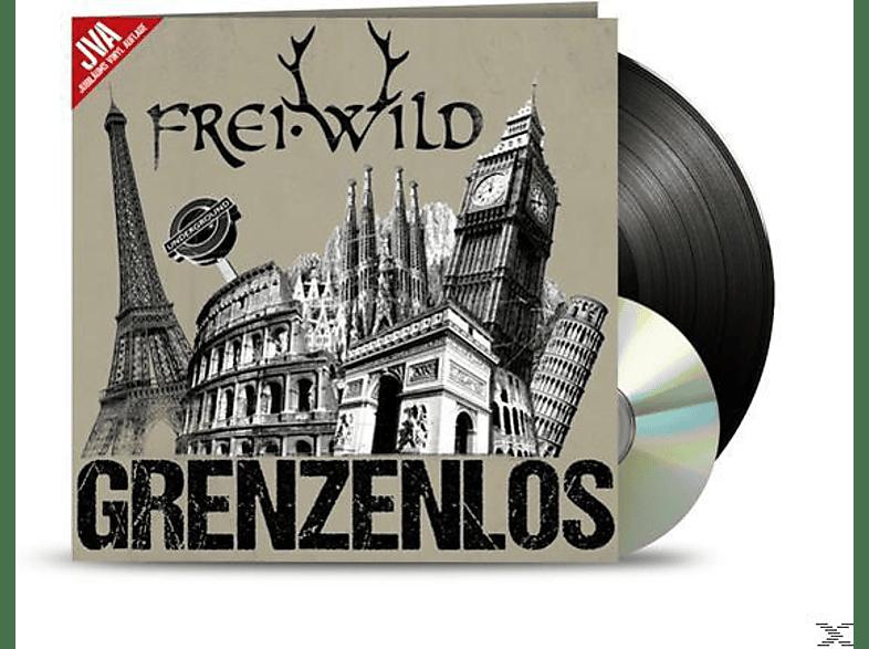 Frei.Wild - Grenzenlos (Jva-Jubiläums Vinyl Auflage) [LP + Bonus-CD]