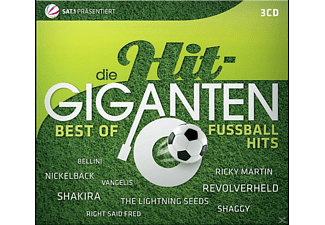 VARIOUS - Die Hit Giganten-Best Of Fußballhits  - (CD)