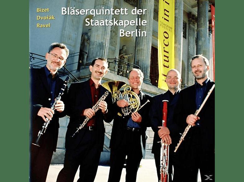 Bläserquintett Der Staatskapelle Berlin - Arrangements für Holzbläserquintett [CD]