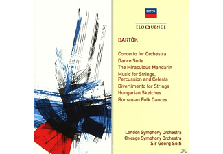 Sir Georg Solti, London Symphony Orchestra, Chicago Symphony Orchestra - Solti dirigiert Bartok - (CD)
