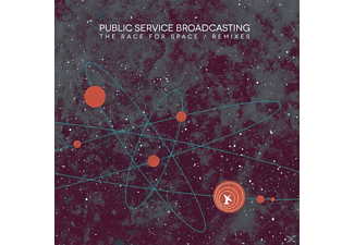 Public Service Broadcasting - The Race For Space/Remixes - (LP + Download)