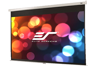 ELITE SCREENS M128NWX Rolloleinwand, Weiß