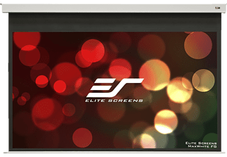 ELITE SCREENS EB120HW2-E8 Motorleinwand, Weiß