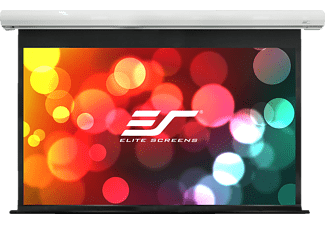 ELITE SCREENS SK100XVW-E10 Motorleinwand, Weiß
