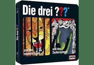 Die Drei ??? - Steelbook 8 - Folgen 15+16 (Der rasende Löwe/Der Zauberspiegel)  - (CD)