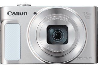 CANON Powershot SX620 HS Digitalkamera Silber/weiß, 25x opt. Zoom, TFT, WLAN