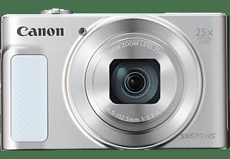 CANON PowerShot SX620 HS Digitalkamera Weiss, 20.2 Megapixel, 25fach opt. Zoom, LCD (TFT), WLAN