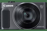 CANON PowerShot SX620 HS Digitalkamera Schwarz, 25fach opt. Zoom, LCD (TFT), WLAN
