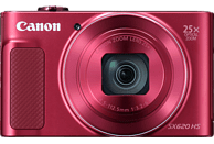 CANON PowerShot SX620 HS Digitalkamera Rot, 20.2 Megapixel, 25fach opt. Zoom, LCD (TFT), WLAN