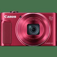 CANON Powershot SX620 HS Digitalkamera Rot, 21.1 Megapixel, 25x opt. Zoom, TFT
