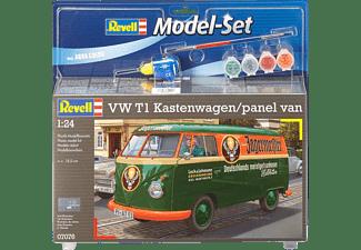 REVELL 67076 VW T1 Kastenwagen Modellbausatz, Mehrfarbig